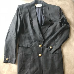 DIOR Vintage Long Black Blazer/Jacket